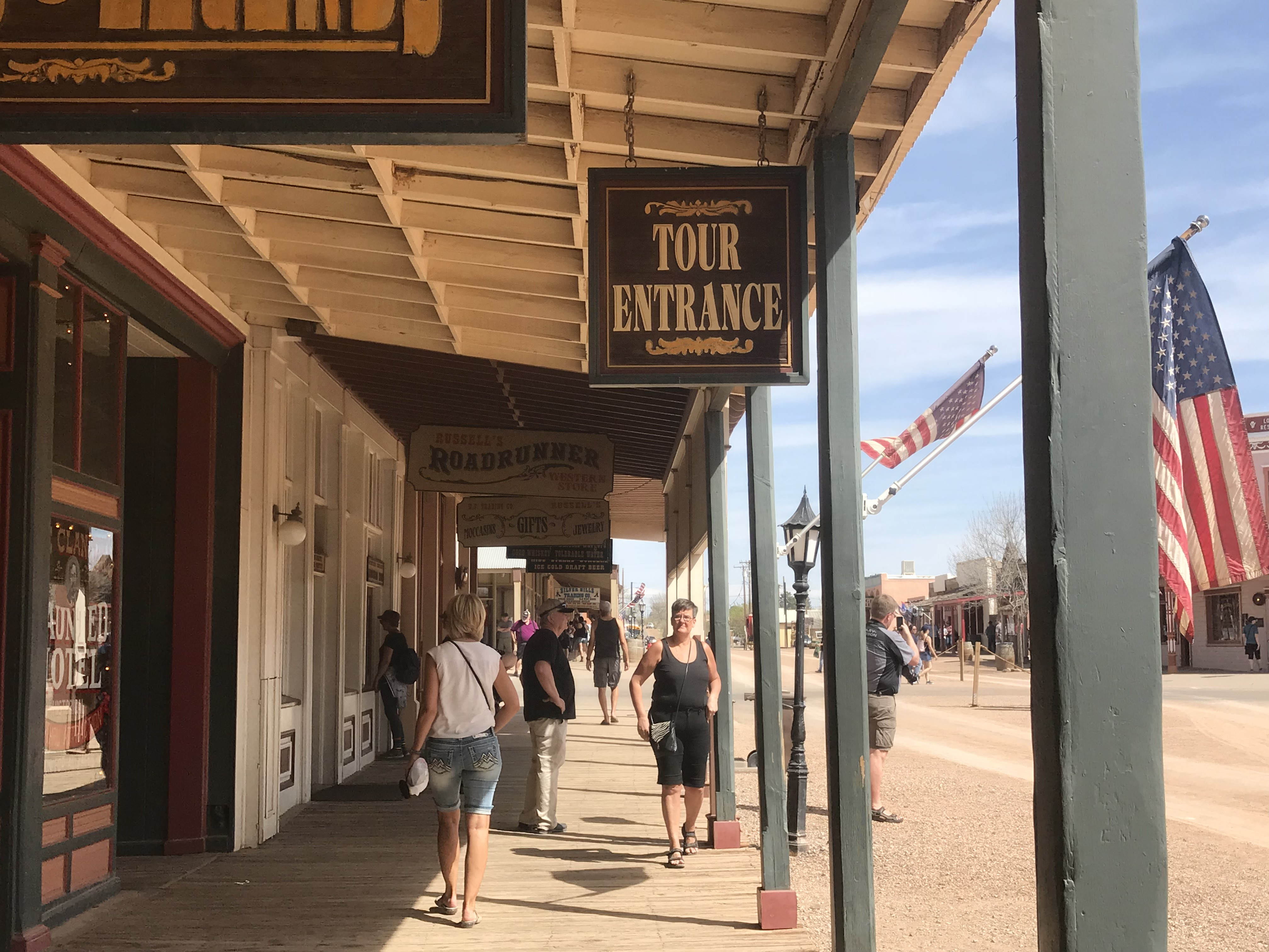 Shops in Tombstone