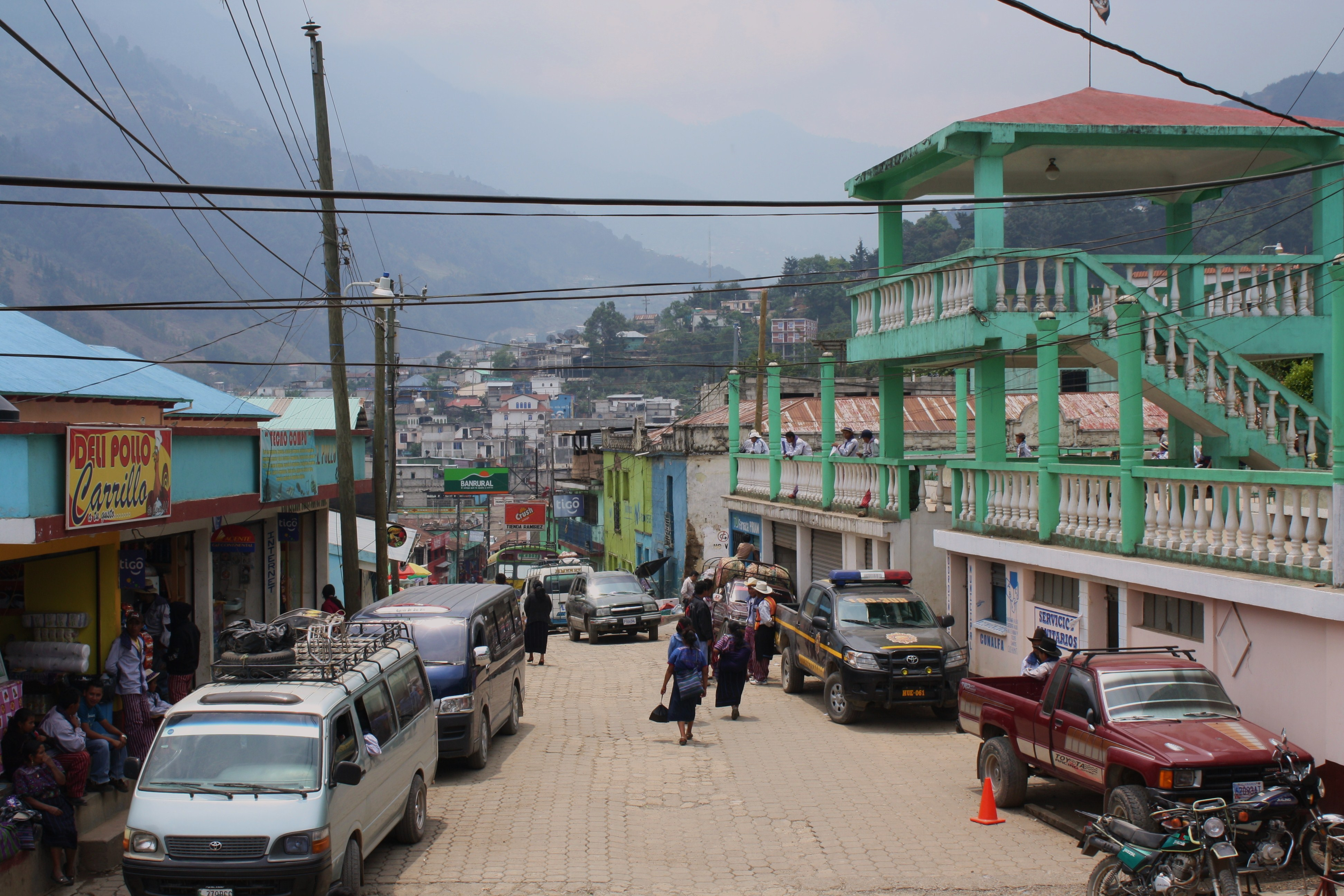 Todos Santos sits in the moutains of northwestern Guatemala. (Photo by: Brenna Goth)