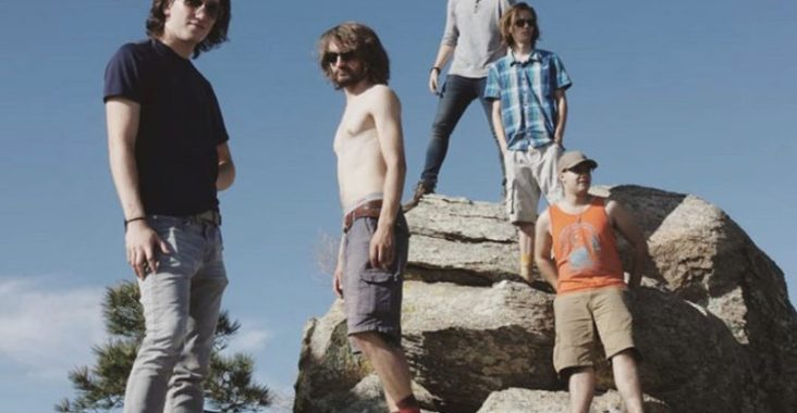 This is one of Galactic Cactus' first photo shoots from this past summer in Tucson, Ariz. They'll have many more once they get around to releasing an album. (From left to right: David, Reed, James, Patrick, Zane)