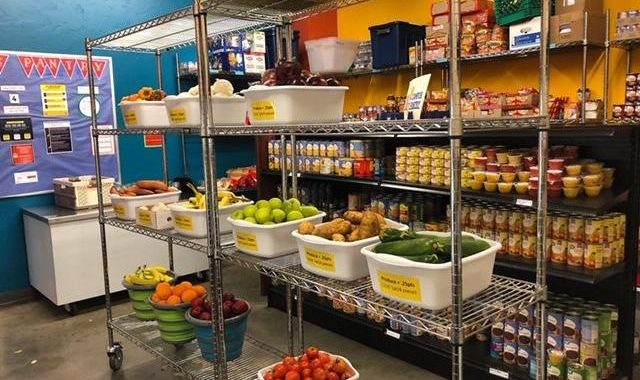 A view of food available at the UA Campus Pantry. (Photo courtesy of UA Campus Pantry).