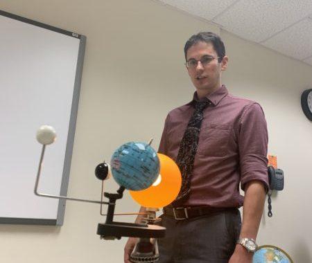 Astronomer, college professor and superhuman