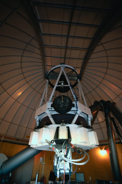 The 60-inch Catalina Sky Survey telescope is operated by different astronomers who do 3-day shifts on the mountain tracing NEOs.